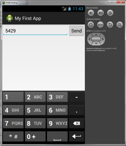 smartphone app screenshot